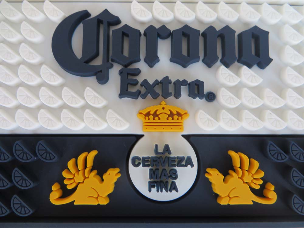 Embossed PVC Bar Rail Mat