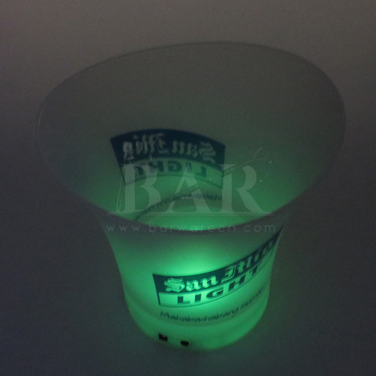 Green Light Ice Bucket