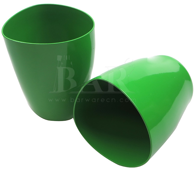 Green Coated Aluminum Mug