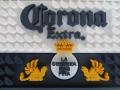 Corona PVC Bar Rail Mat With Embossed logo