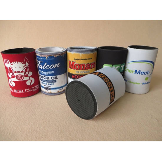 Custom Rubber Neoprene Can Cooler Stubby Holder For
