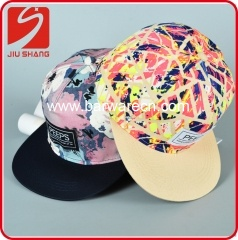 6 Panel Fashion Flat Cap