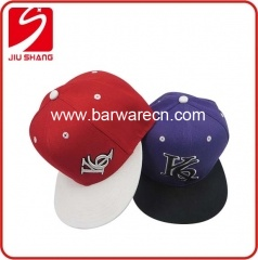 3D Embroidery Logo Snapback Cap For Sport