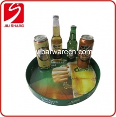 Rubber Lined Non skip Bar Tray With Printing logo