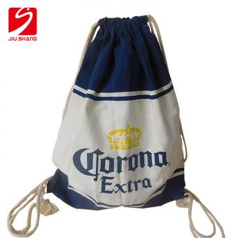 High Quality Canvas Drawstring Bag