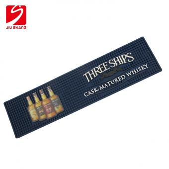 Image Printed Rubber Bar Mat