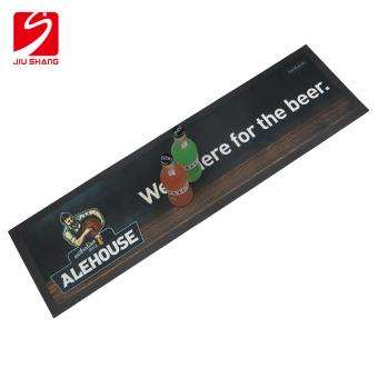 Personalized Rubber Bar Mat