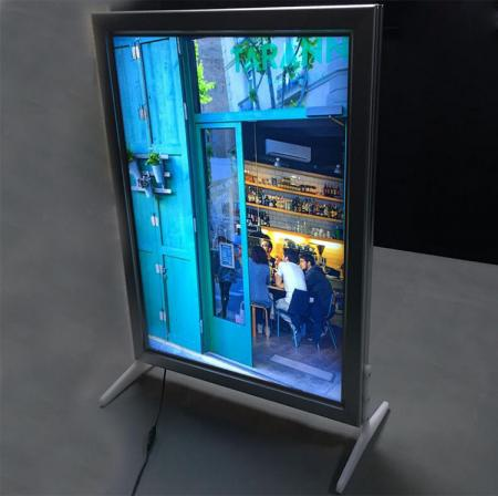 LED Sign Box With Colorful Inside Image