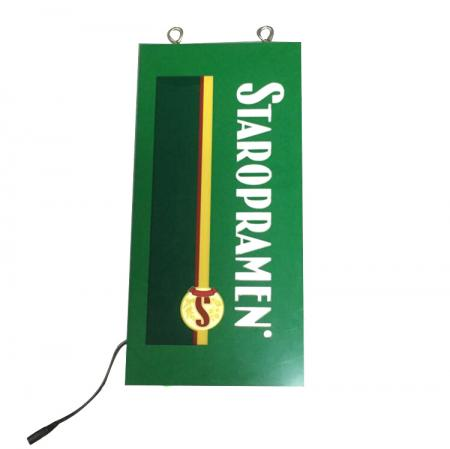LED Sign Board With Metal Hanging Rings