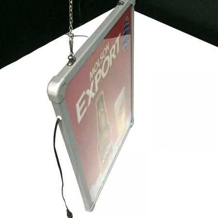 Advertising Rectangle Rechargable Light Board