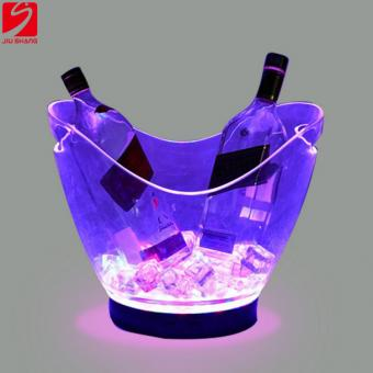 Transparent LED Beer Bucket