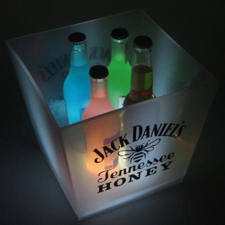 Single Color LED Ice Cooler Bucket