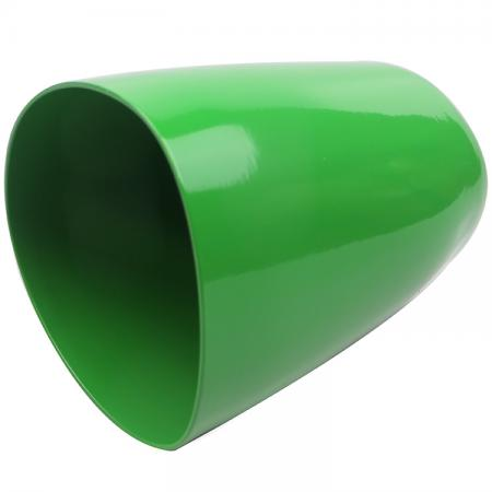 Custom Shape Unbreakable Green Aluminum Mug
