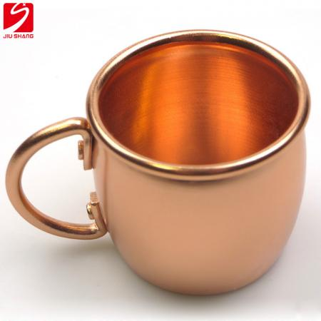 Small Size Golden Anodized Aluminum Cup