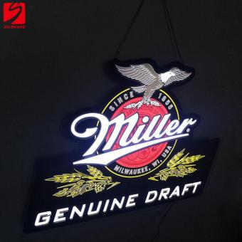 Miller Logo LED Sign Board