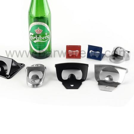 Barware Gear Wall Mount Bottle Opener with Free Stainless Steel Mounting Screws