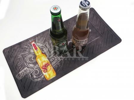 Nitrile Rubber Bar Mat Washable Drink Beer Mats