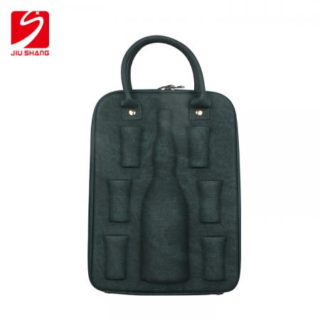 Molded EVA Wine Suitcases Drinkware Champagne Bag