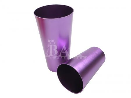 Colored Drinking Water Cup Tumblers Retro Tableware