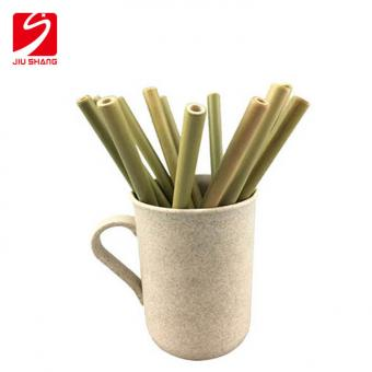 biodegradable bamboo drinking straw with logo engrave and printing manufacturer