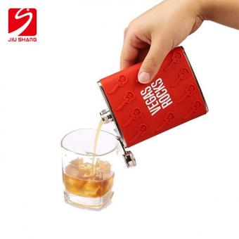 Premier Housewares Stainless Steel Hip Flask