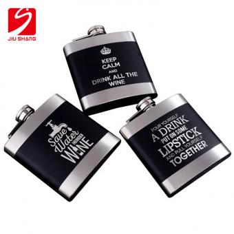 Stainless Steel Metal Outdoor Portable Mini Hip Flask