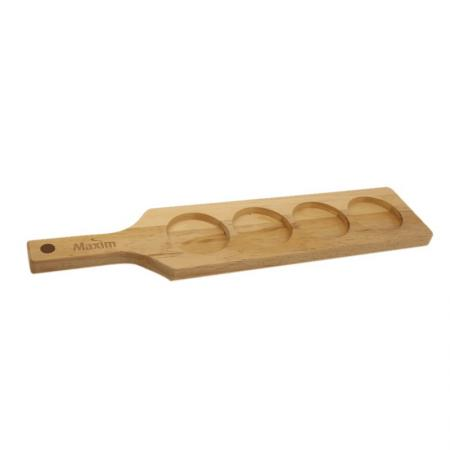 OEM Wooden Bar Cup Holder Creative Wooden Bar Tray