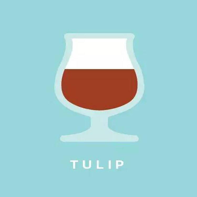 The seventh beer glass:Open Tulip Cup
