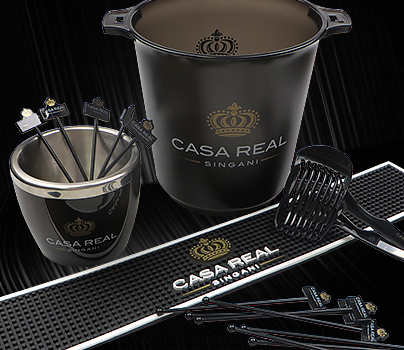 Custom service for bartending tools